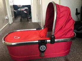 Icandy peach carry cot in tomato