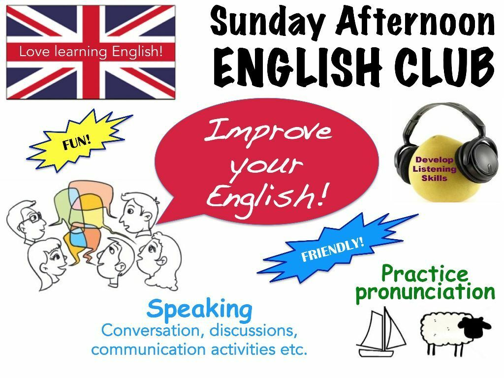 how to start english speaking club