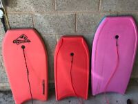 Great quality body boards set