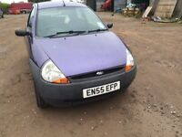 2006 FORD KA 1.3 MOT FEB SPARES OR REPAIR