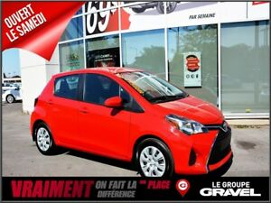 2016 Toyota Yaris LE AIR CLIM Gr ÉLEC BLUETOOTH
