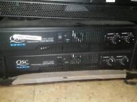 Qsc audio amplifier rmx 2450