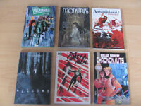 Various graphic novels for sale DC Image Dark Horse like new take a look!