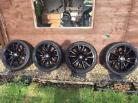 Astra VXR alloy wheels