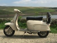 LAMBRETTA SX150 All Italian 1967