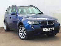 2007 57 BMW X3 2.0d SE 5 DOOR DIESEL ESTATE