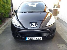 SWOP +CASH PEUGEOT 207 1.6 HDI ONLY 56000 MILES 2010 REG FOR 5 Dr DIESEL CAR EG ASTRA,FOCUS 2013 ON