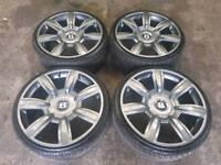 """20"""" bentley alloy wheels"""