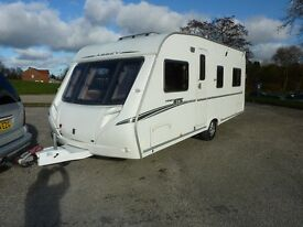 Abbey Vogue GTS Touring Caravan & FREE Starter Pack
