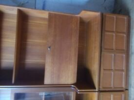 A NATHAN BOOKCASE IN REAL WOOD