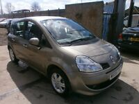 2008 RENAULT GRAND MODUSE 1.5 DCI , DIESEL, AUTOMATIC, 5DOOR, ROAD TAX ONLY £30, SERVICE HISTORY