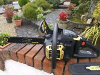 Chain Saw 35cc. Anti Vibration with safety guard in good working order