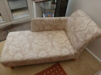 Chaise Longue and matching chair for sale ideal conservatory furniture