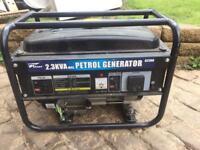 Pro user 2.3KVa Petrol generator - nearly new