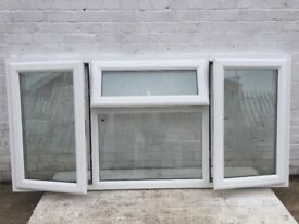 Wide UPVC Window