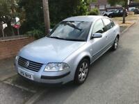 51 Reg Volkswagen Passat 1.9 TDi PD 130 BHP SPORT 6 Speed 4 Door Saloon Full SH Long MOT