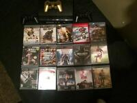 Ps3 with 15 games 2 controllers
