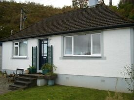 Cottage for rent Bellanoch by Lochgilphead Argyll