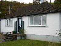 Cottage for rent Bellanoch by Lochgilphead Argyll