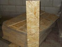 OSB Offcuts 185mm x 1000mm x 18mm. Bargain Price 50p while stocks last!!!!!!
