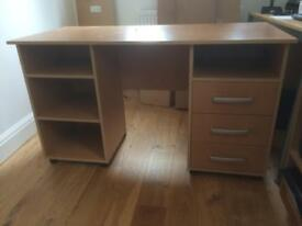 IKEA beech effect office/student desk