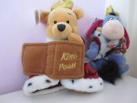DISNEY KING POOH AND EEYORE WITH TAGS