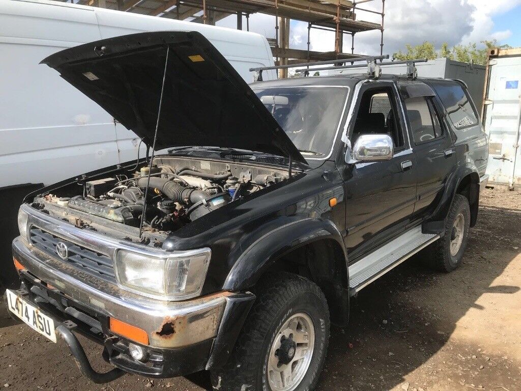 Toyota hilux surf land cruiser breaking parts available