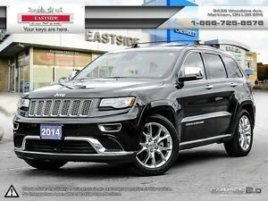 2014 Jeep Grand Cherokee Summit NAVI-B.Tooth-Roof- Heated Leathe