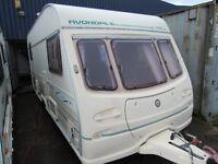 Avondale Dart 510-5 Double Dinette Touring Caravan 5 Berth 1998