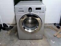 Samsung washing machine 8kg ecobubble , refurbished with warranty