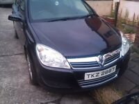 VAUXHALL ASTRA H 1.4 YEAR 2007 IN BLACK GREAT CONDITION INSIDE AND OUT DRIVES LYK NEW £1500 ONO