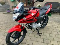 Honda cbf 125, IMMACULATE, ULTRA LOW MILES. SOLD SOLD SOLD