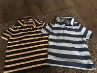 Ralph Lauren boys tshirts size 5