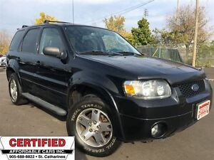 2005 Ford Escape Limited ** 4X4, HTD LEATH, SUNROOF, TOW PKG **