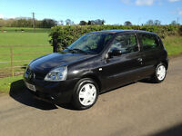 2007 Renault Clio 1.2 Campus 3 Door*Full Mot*One Owner from New*Just Serviced*