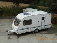 2002/3 Abbey 2-berth caravan with motor mover & all accessories.