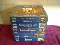 13 Jigsaw Puzzles-In Very Good Condition-£20 OR NEAR OFFER