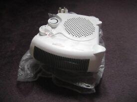 Two Lloytron F2003WH Staywarm 2000W Fan Heaters