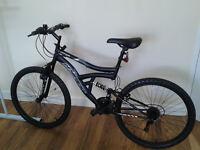 hyper dual suspension mountain bike for sale.