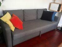 Three seat sofa bed IKEA FRIHETEN