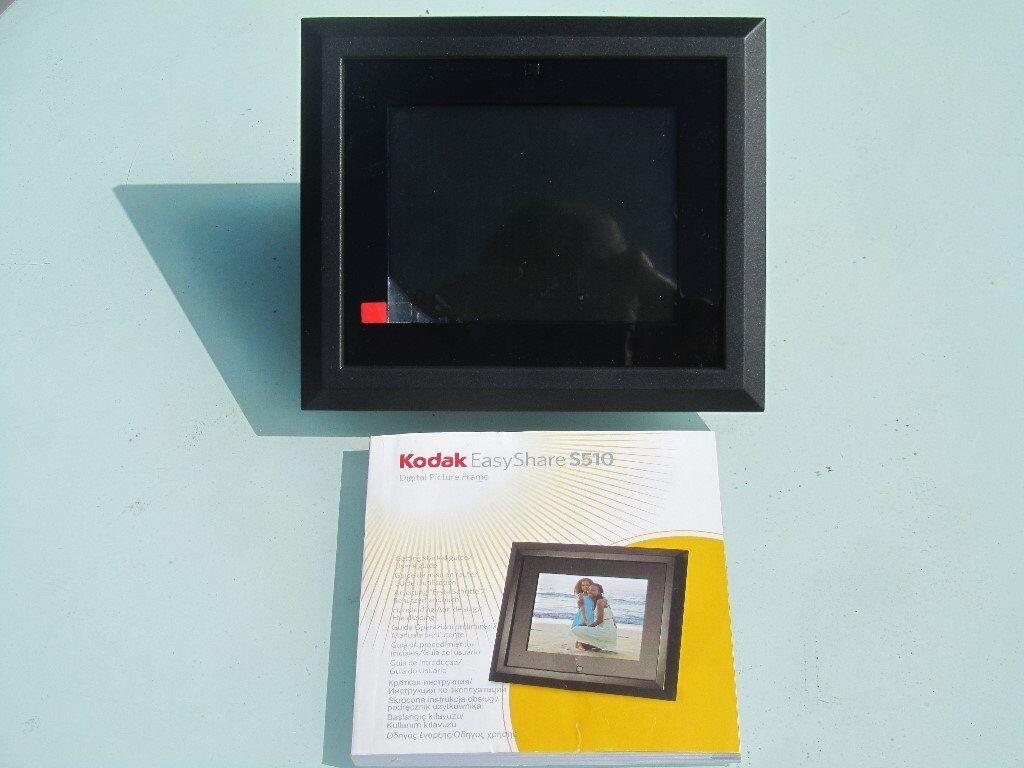 Kodak EasyShare S510 5.6 Digital Picture Frame (Black)