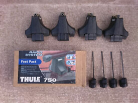THULE 750 roof rack foot pack
