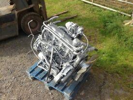LANDROVER DEFENDER ENGINE 2.5 N/A 19 J DIESEL TURBO COMPLETE.