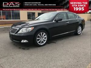 2008 Lexus LS 460 PREMIUM NAVIGATION/LEATHER/SUNROOF