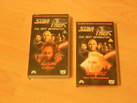 Star Trek, The Next Generation pre-recorded VHS Video Tapes for sale