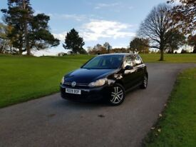 VOLKSWAGEN GOLF 2009/09 TDI CR SE 5DR MANUAL NEW TURBO FITTED NEW SHAPE !!! AUX CRUISE ISOFIX FSH!!!