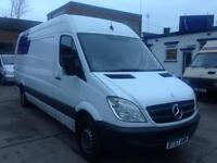 2007 MERCEDES sprinter LWB Starts and DRIVES SPARES OR REPAIRS WITH MOT
