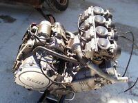 Yamaha FZR 1000 EXUP engine yr 1990 £375. 07870516938