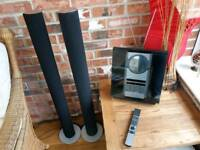 Bang and Olufsen beosound 3200 CD Radio with hard drive and beosound 6000 speakers