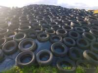 Free tyres delivered